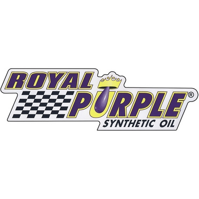 Royal Purple Decal - Clear Vinyl - 36